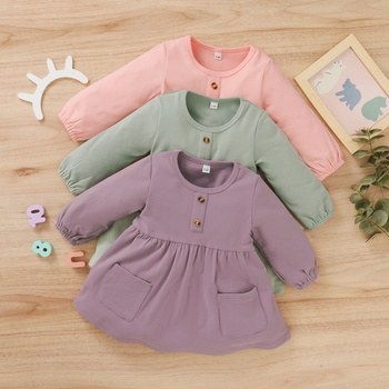 Baby Girl Solid Dress