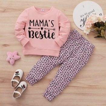 Toddler Girl Leopard Sets