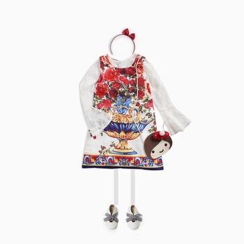 Gorgeous Floral Sleeveless Dress for Girls