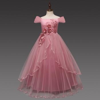 72b417d1a Elegant Flower Applique Off Shoulder Party Dress