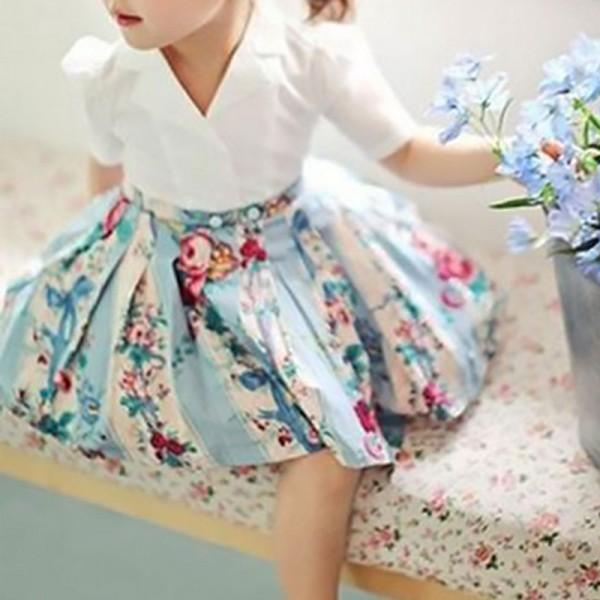Little Lady Floral A-Line Dress for Baby Girl
