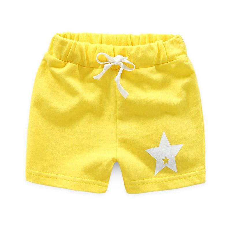 fe02c5faa Kid estrella imprimen pantalones cortos elásticos dulces para niño at  PatPat.com