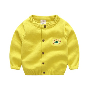 ab93410b6 Cute Appliqued Baby Fish Knit Sweater for Toddler Boy and Boy ...