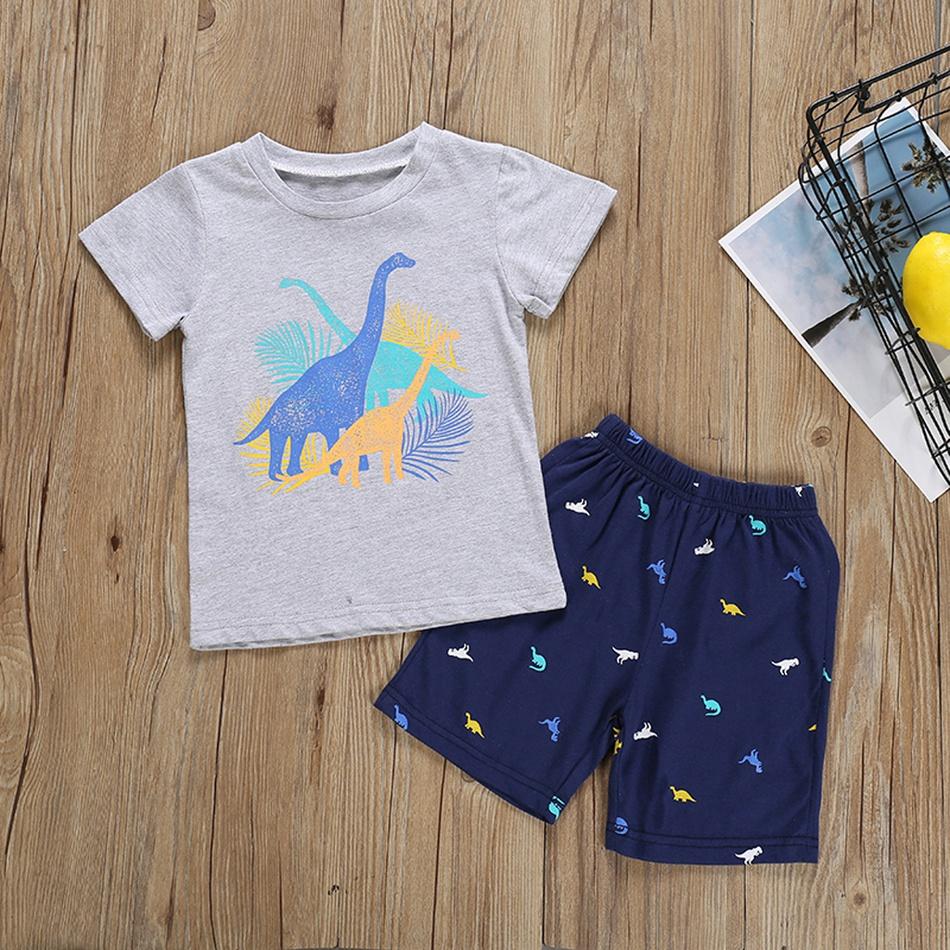 buy online 6f777 66576 Baby bambino / bambino ragazzo alla moda dino tee di stampa ...
