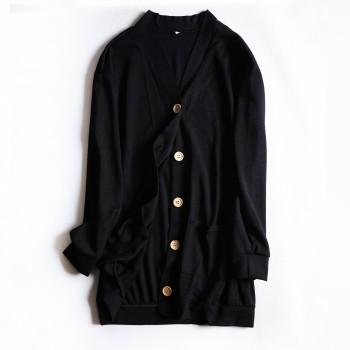 Fashionable Long-sleeve Cardigan