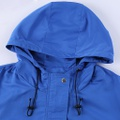 Casual Solid Pocket Hooded Outdoor Coat