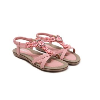 Vintage Boho Floral Decor Sandals