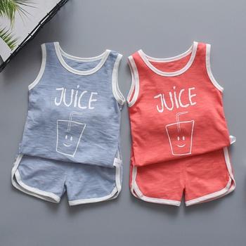 1a678130f Baby / Toddler Juice Bottle Print Tank and Shorts Pajamas Set