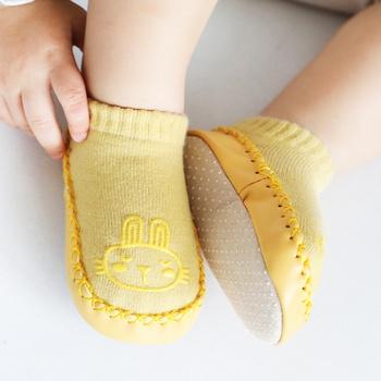Baby Stylish Cartoon Decor Antiskid Socks