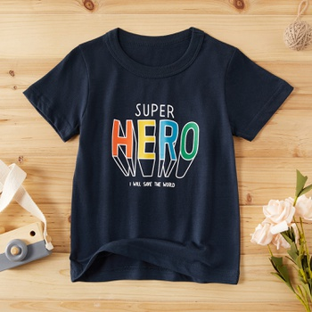 Baby / Toddler Boy SUPER HERO Print Tee