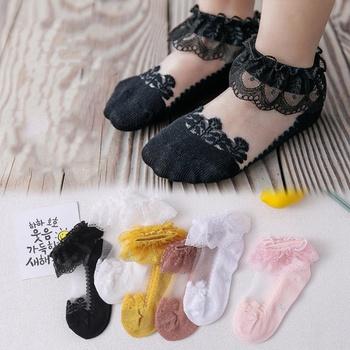 Baby / Toddler / Kid Lace Tulle Princess Socks
