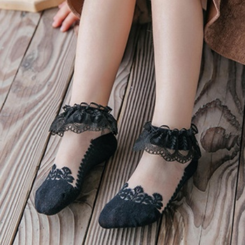 Baby / Toddler / Kid Lace Tulle Princess Socks