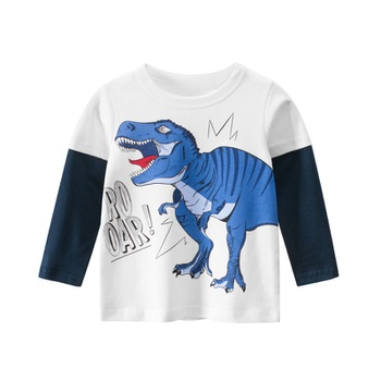 Baby / Toddler Boy Dinosaur Print Long-sleeve Tee