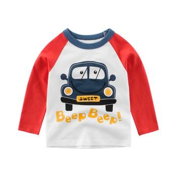 Baby / Toddler Boy Car Print Long-sleeve Tee