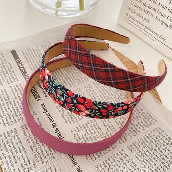 3-pack Vintage Sweet Wide Hairband for Girls