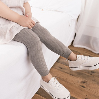 Baby / Toddler Girl Casual Solid Leggings