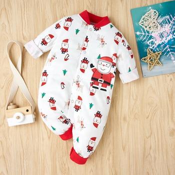Baby Santa Claus Christmas Jumpsuit