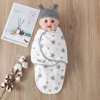 Baby Star Print Sleeping Bag Blanket