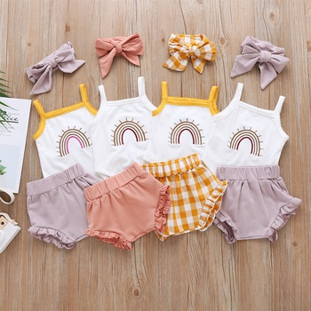 Baby Girl Sweet Rainbow Sets