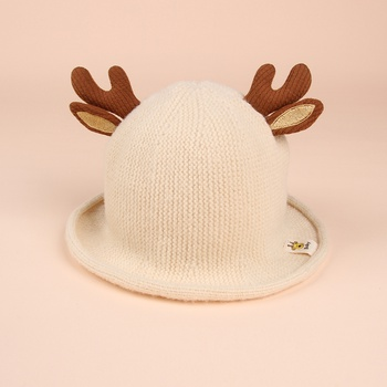 Baby Elk Christmas Knitted Hat