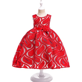 Gorgeous Lace Tulle Sleeveless Dress for Toddler and Kid