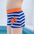 5d3dac3ca2 Toddler Trendy Striped Star Appliqued Swimming Trunks at PatPat.com