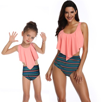 825b8601be7a26 Mommy and Me Swimwear | PatPat | Free Shipping