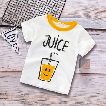 Stylish Juice Splice Short-sleeve Tee for 1.5-9 Years Boy and Girl