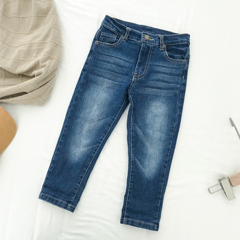 Trendy Distressed Jeans in Blue for Baby and Toddler
