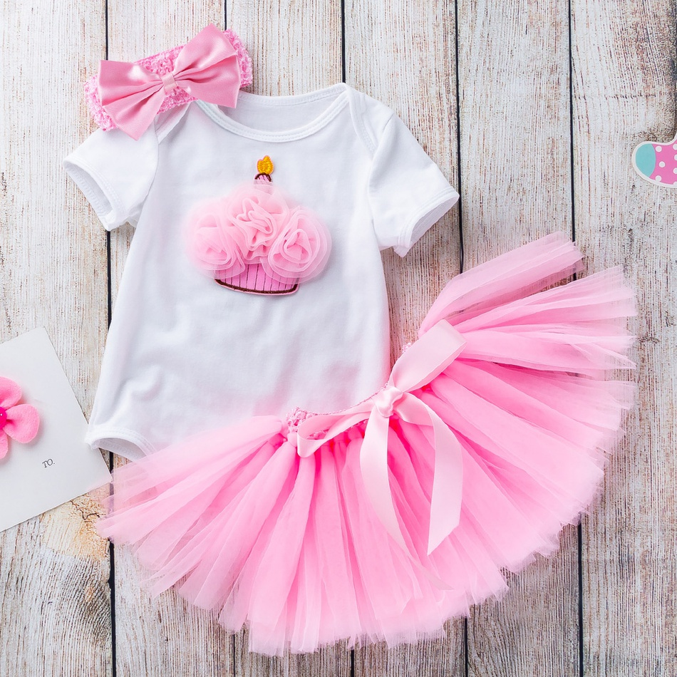 e1f35b63165 Baby Baby  Toddler Girl s Birthday Crown Applique Bodysuit