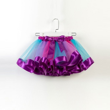 1648509dd0 Pretty Bow Decor Tutu Skirt in Purple for Toddler Girl and Girl