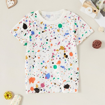 Trendy Colorful Polka Dots Tee