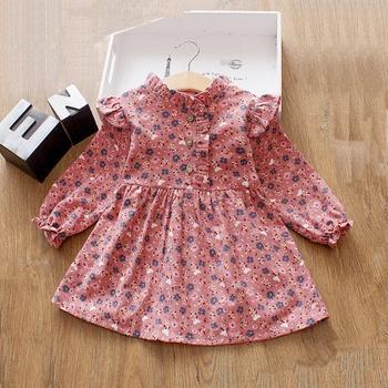acf99b8207e Baby  Toddler Girl s Floral Allover Ruffled Detail Dress