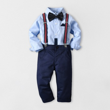 bbe3ab711 baby boy suspender outfit | PatPat | Free Shipping