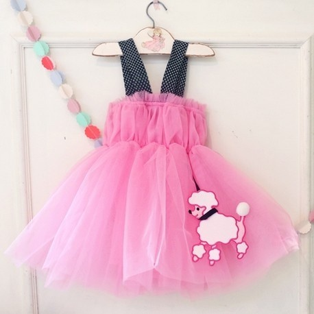 194d71c352e Baby joli chien imprimé jabot tutu robe chasuble pour les filles  tout-petits at PatPat.com