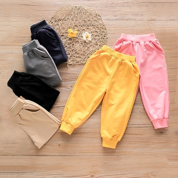 Baby / Toddler Colorful Solid Causal Pants