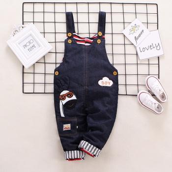 Baby Unisex straight Overalls