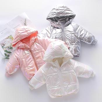 Baby Unisex casual Coat & Jacket Wadded jacket Children Winter Thick Coat