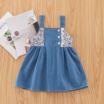 Baby / Toddler Floral Strappy Dress