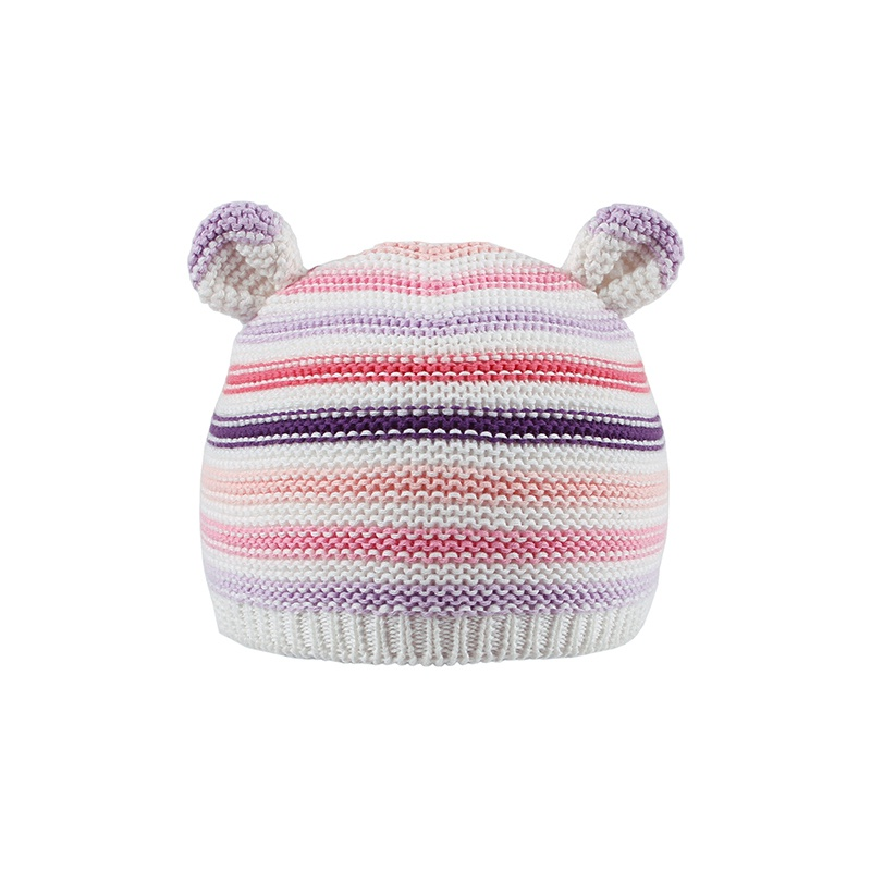 4595896d757 Baby Cute Striped Bear Design Knitted Hat for Baby and Toddler at ...
