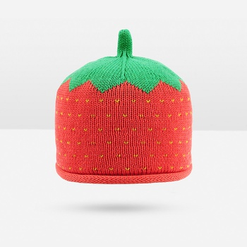 32f11e52611 Cute Knitted Watermelon Design Hat for Baby and Toddler