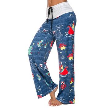 Stylish Christmas Print yoga Pants