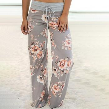 Pretty Floral Loose Yoga Pants