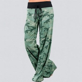 Casual Camouflage Loose Pants