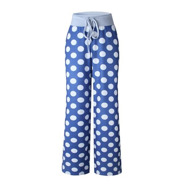 Polka Dots Loose Yoga Pants