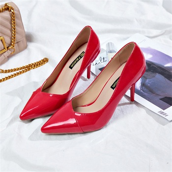 Stylish Slip-on High-heels