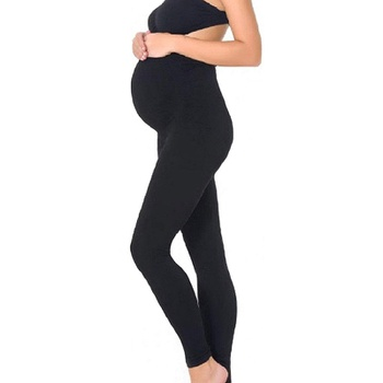 Casual Solid High-rise Maternity Leggings