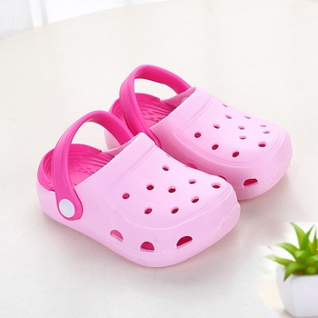 Toddler / Kids Breathable Solid Slippers