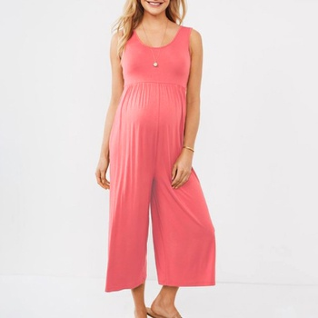 Maternity casual Plain Jumpsuits