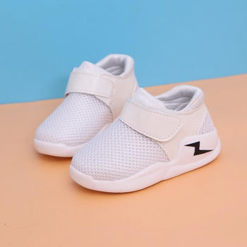 Toddler / Kid Solid Lightning Mesh Breathable Casual Sneakers